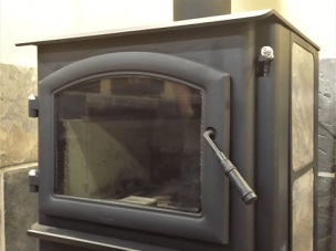 Glass for Wood Pallet Coal Stoves and Fire Place Surrounds