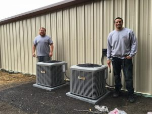Luxaire-Air-Conditioning-Installation-by-Osburn-Mechanical-Inc-Elmira-NY-